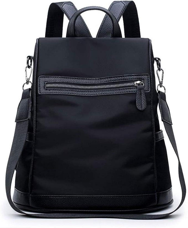 Women's Backpack Waterproof,Fashion Student Bag,Largecapacity Multifunctional Nylon Cloth Travel Bag