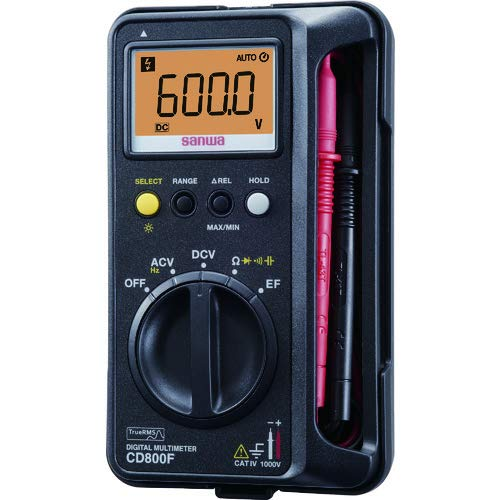 三和電気計器 デジタルマルチメータ CD800F