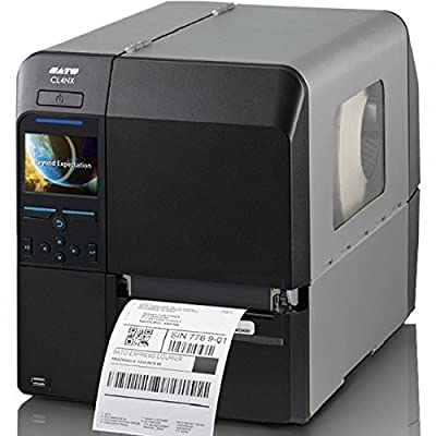 """Sato WWCL00061 Series CL4NX High Performance Thermal Printer, 203 dpi Resolution, 10 IPS Print Speed, Serial/Parallel/Ethernet/USB/Bluetooth Interface, 4"""""""