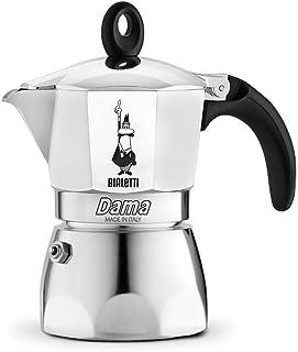 Bialetti 2154 Dama Nuova Espresso Maker, Silver