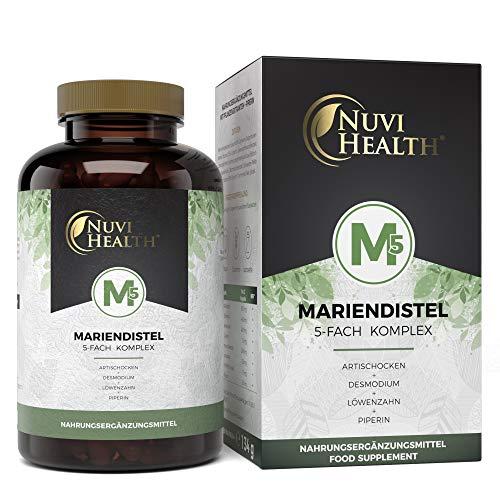Nuvi Health 5-Fach Komplex - 180 vegane Bild