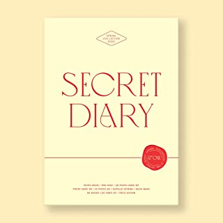 アイズワン - SPRING COLLECTION SECRET DIARY [Photobook Package] 192ページフォトブック+DVDディスク+フォトカード24...