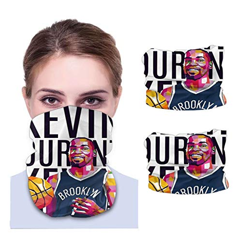 Hizhogqul Ke-Vin Player Du-Rant 2 Pcs Neck Gaiter Face Mask Reusable, Cloth Face Masks Washable Bandana Face Mask