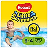 Huggies Little Swimmers Schwimmwindeln, Gr. 3-4, 12 Stück, 7-15kg