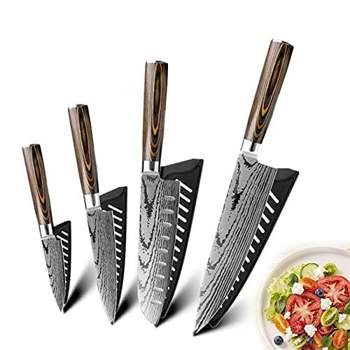 DZCP Cuchillo de Cocina Cuchillo Cuchillo Chef Cuchillos...