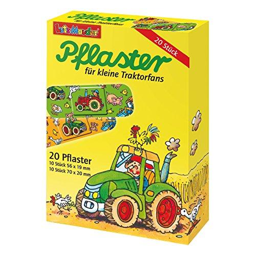 Lutz Mauder 2 Stück 14520 Kinderpflaster Traktor / Bauernhof / Pflaster / Kindergeburtstag / Geschenk zum Kindergeburtstag