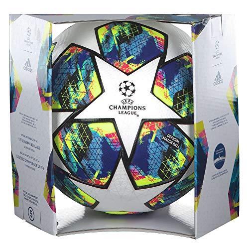 adidas Performance Finale Official Matchball Fußball weiß/bunt, 5