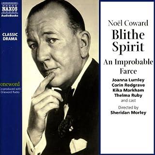 Blithe Spirit audiobook cover art