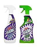 Paquete de múltiples Cillit Bang limpiador de la grasa y la chispa 750 ml y el poder limpiador de la botella andHygiene 750 ml (zafiro modas Ltd artículo)