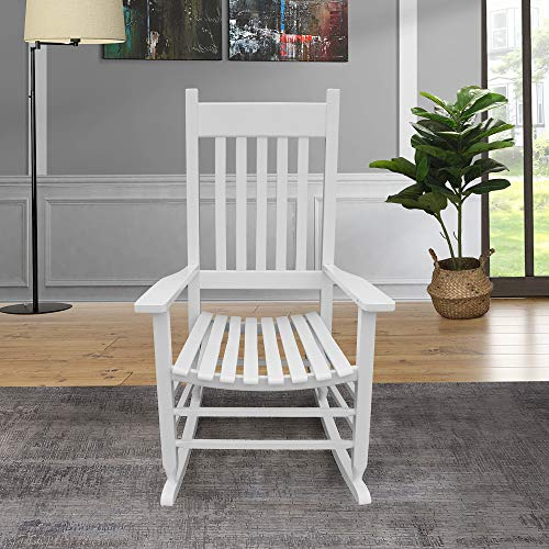 Chino Solid Wood Outdoor Rocking Chairs