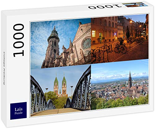 Lais Puzzle Collage Freiburg 1000 Teile