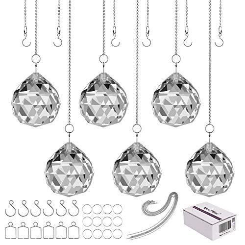 MerryNine PrismBall-40 Sonnenfänger für Deckenleuchte, Kronleuchter, hängende Dekoration