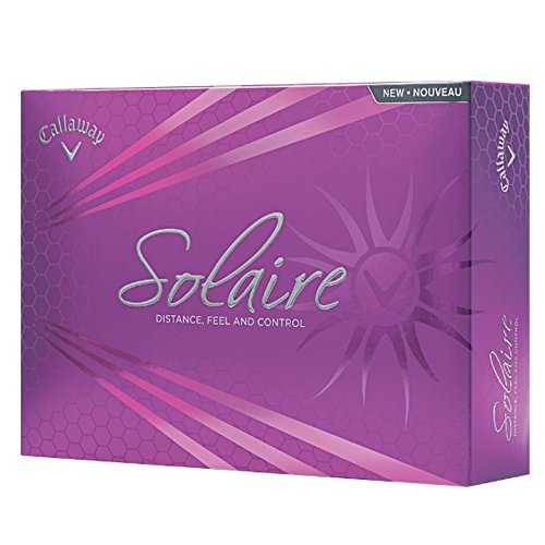 Callaway Solaire Golf Balls, White