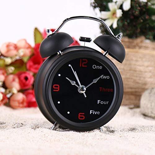 Reloj despertador de oficina reloj despertador de tiempo libre comedor vajilla relojes de escritorio taza de café relojes de alarma retro vintage reloj de mesa dormitorio ggsm