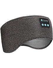 Achort Bluetooth Hoofdband V5.0 Draadloze Muziek Sport Hoofdband Slaap Hoofdtelefoon Stereo Speakers Handsfree Headset voor Training, Joggen, Slapen, Hardlopen, Wandelen en Yoga