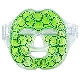 Milya Entspannungsmaske und Wellnessmaske für Augen und Gesicht Kühlmaske Gel-Gesichtsmaske...