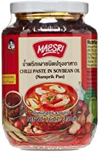 Chilli Paste in Soybean Oil - Nam Prik Pao (Thai Chili Paste) 16 Ounce Jar