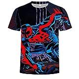 SSBZYES Camiseta para Hombre Camiseta de Manga Corta para Hombre Camiseta de Verano con Estampado Digital Camiseta de Gran tamaño para Hombre Camiseta Casual para Hombre Deportes al Aire Libre