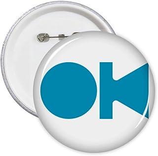 Lot de 5 badges avec inscription en anglais Consent Commune Knowledge