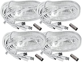(4) 100 Foot Security Camera Cable for Samsung SDS-P5122, SDS-P5102