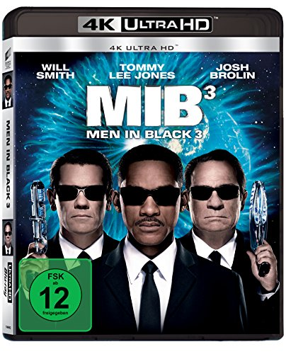 Men in Black 3 (4K Ultra HD) [Blu-ray]