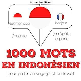 Couverture de 1000 mots essentiels en indonésien