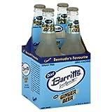 Barritts Soft Drink, Ginger Beer, Bermuda Stone, Diet , 48 Fl. Oz, (Pack of 2)