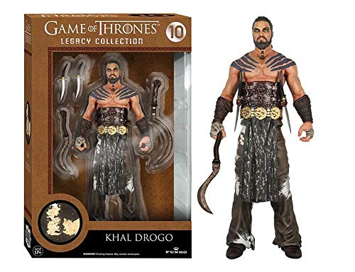 Funko 4109 POP Vinyl Legacy Action Game of Thrones 2 Khal Drogo Figure