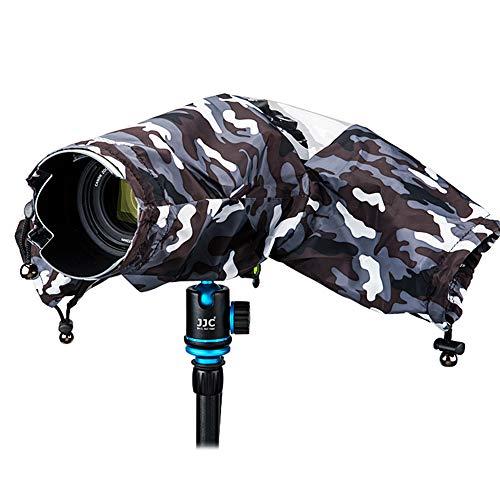 Protector de Lluvia Transparente para Fujifilm Nikon DF D90 D610 D810 D3300 D3400 D5500 D7200 Canon EOS 7D 5D T6I Sony A99II A77II cámaras y Otras cámaras réflex Digitales