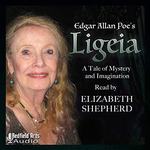 Edgar Allan Poe's Ligeia audiobook cover art