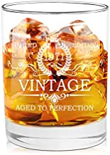 50th Birthday Gifts for Men 1971 Vintage Whiskey Glasses - Unquie Gift for Men, Dad, Mom, Husband, Him, Friends Turning 50, 50th Birthday Gift Ideas for Men from Daughter, Kids, Wife, Son, 11 oz