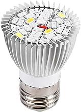 Led-groeilamp, 28 W, E27, krachtig paneel, volledig spectrum, led-broeikas, hydrocultuur, groenten, potbloem, plant, groei...