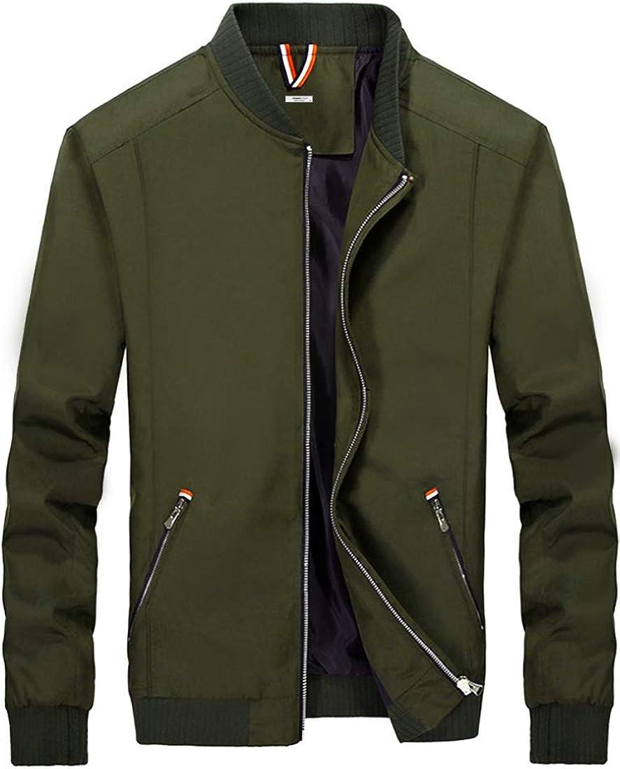 ITEMMS Men's Zip Up Bomber jacket 01