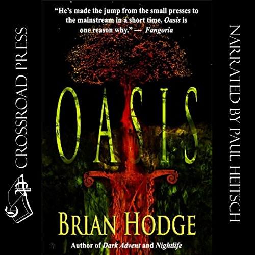 Oasis audiobook cover art