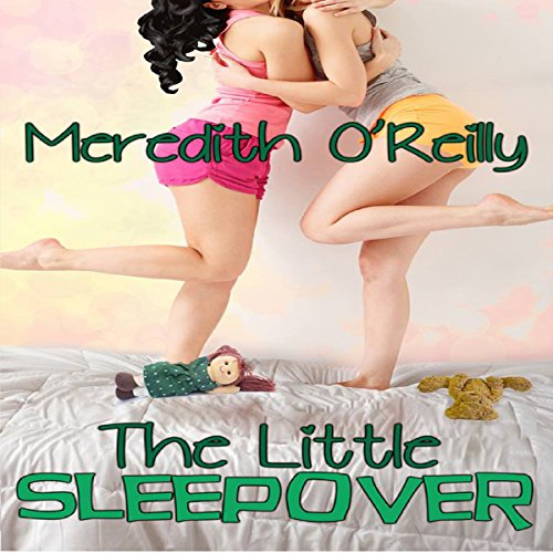 The Little Sleepover audiobook cover art