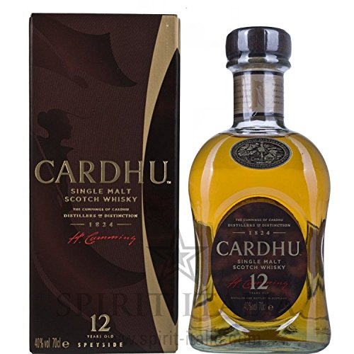 Cardhu Single Malt Whisky 12 Years Old GB 40,00% 0.7 l.