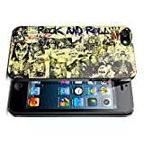 New Classic Rock Rockstar Legend Collage Photo Collection Hardshell case For Apple iPhone 5 5S