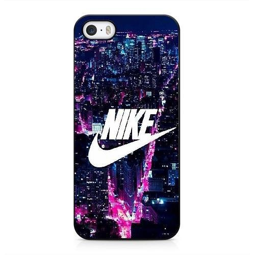 Funda para Nike logo Series iPhone 5 5s Case Negro iPhone 5 5s funda...