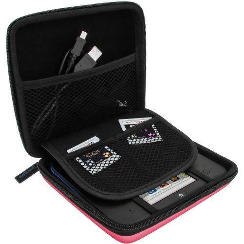 iGadgitz U2705 - Eva Hart Schutzhülle Kompatibel mit Nintendo 2DS - Pink