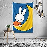 ミッフィー Miffy タペストリー 壁掛け ポスター 背景布 壁飾り 家 リビングルーム ベッドルーム 部屋 おしゃれ 100*150cm