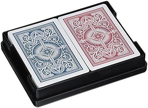 Springbok KEM Arrow schmal Jumbo Index Spielkarten rot und blau Decks Jumbo Index Spielkarten