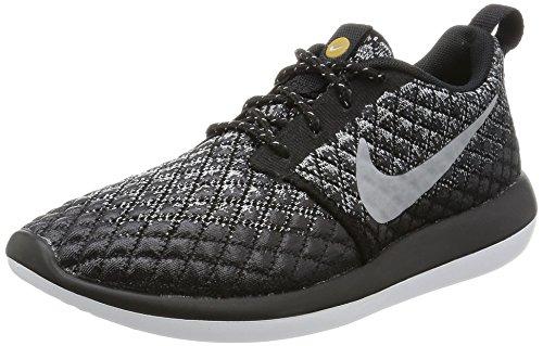 Nike Women's Roshe Two Flyknit 365 Sneaker Shoes (Wolf Grey/Wolf Grey-black-white, 6 B(M) US)