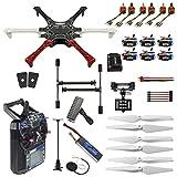 FEICHAO Kit Drone Fai-da-Te F550 Hexa-Rotor Air Frame GPS APM2.8 Bussola incorporata con Controller...
