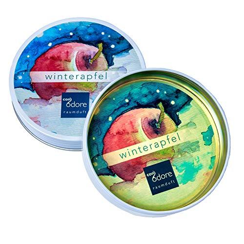 CONODORE Ambientador – diferentes variedades – fresco, natural, larga duración (manzana de invierno; Navidad, manzana, canela)
