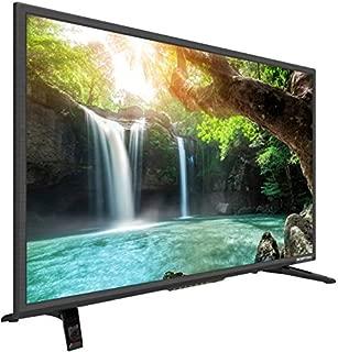 Sceptre 32 inch Full 1080p LED HDTV HDMI USB MHL VGA with Clear QAM, Machine Black