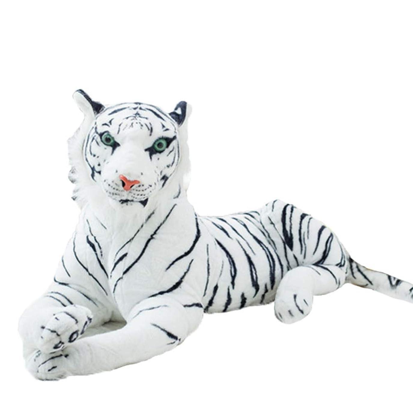 羊の誘惑するその結果タイガー ぬいぐるみ 動物 プレゼント 虎 リアル 縫いぐるみ トラ 抱き枕 大きい かわいい ふわふわ もちもち 洗える おもちゃ 赤ちゃん 女の子 子供 大人 人形 贈り物 お祝い 誕生日 店 120CM