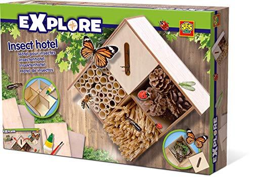 SES 25008 Creative 643190 Explore Insektenhotel Experimentier-Set, Mehrfarbig