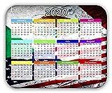 2020 Calendar Anti-Slip Mouse ...