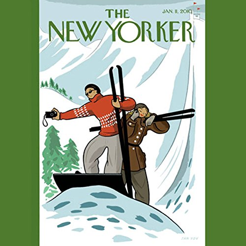 The New Yorker, January 11, 2010 (Lauren Collins, Ian Frazier, Sasha Frere-Jones) cover art