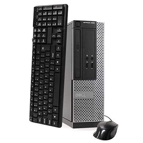 DELL Optiplex 3020 SFF Desktop PC - Intel Core i5-4570 3.2GHz 8GB 500GB DVDRW Windows 10 Professional (Renewed)']